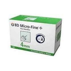 BD Micro-Fine 32Gx4mm 100p/bte