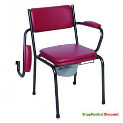 Chaise hygiénique fixe avec...