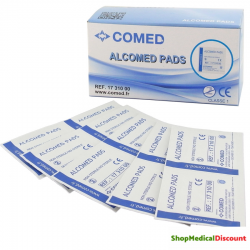 Alcomed Pads - Tampon d'alcool