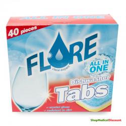 Flore Tabs lave-vaiselle 40p